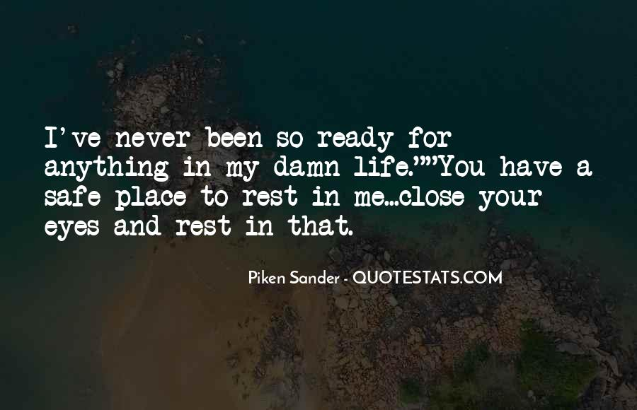 The Best Never Rest Quotes #101095