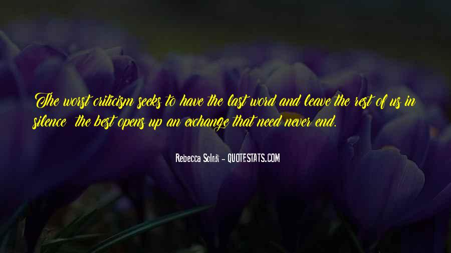 The Best Never Rest Quotes #1815250