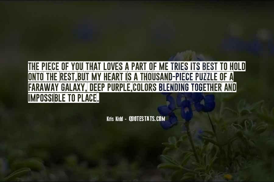 The Best Part Of Me Is You Quotes #51367