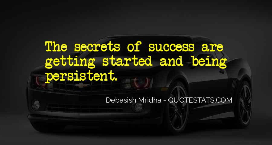 Quotes About Being Persistent #1200551