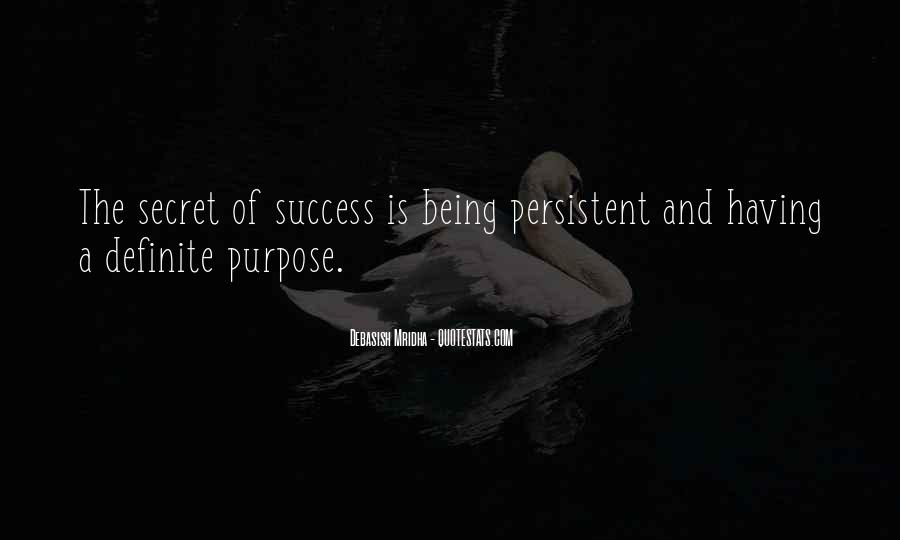 Quotes About Being Persistent #1325706