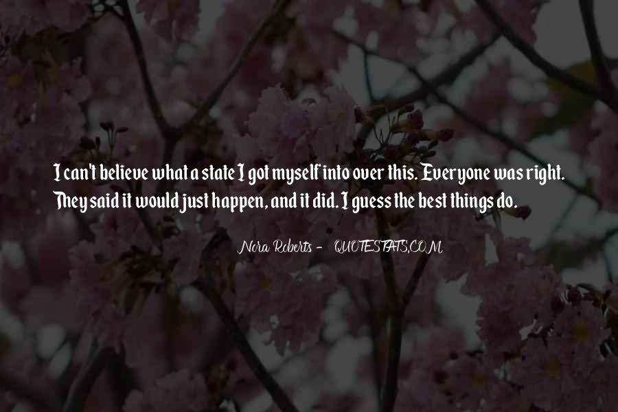 The Best Things Happen Quotes #1714044