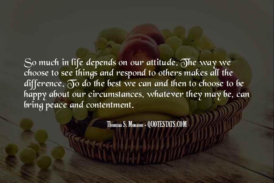 The Best Way To Be Happy Quotes #124089