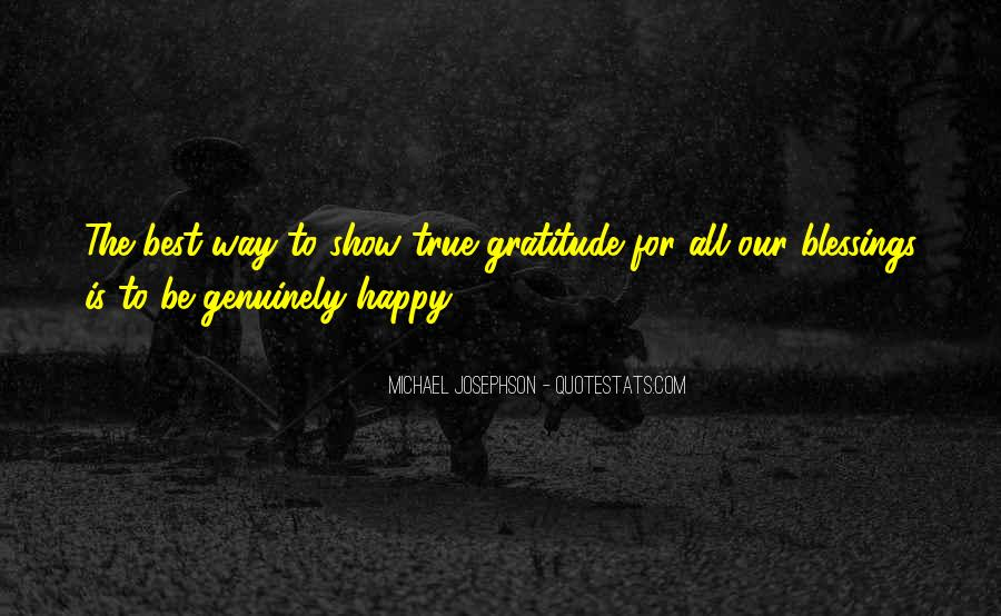 The Best Way To Be Happy Quotes #1767036