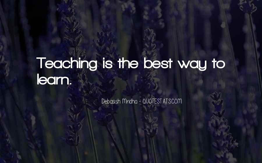 The Best Way To Love Quotes #164210