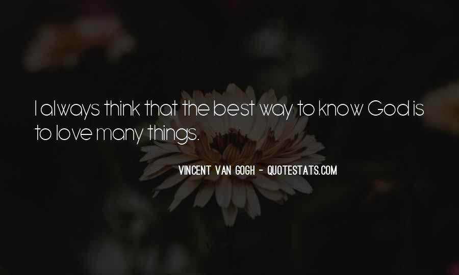 The Best Way To Love Quotes #48842