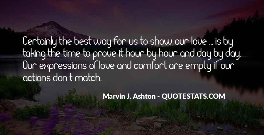 The Best Way To Love Quotes #645360