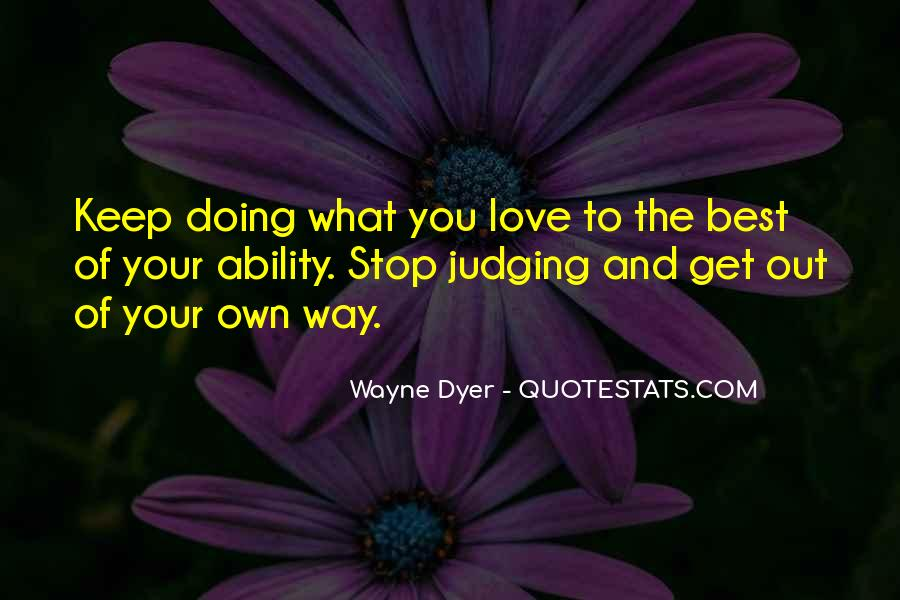 The Best Way To Love Quotes #832007
