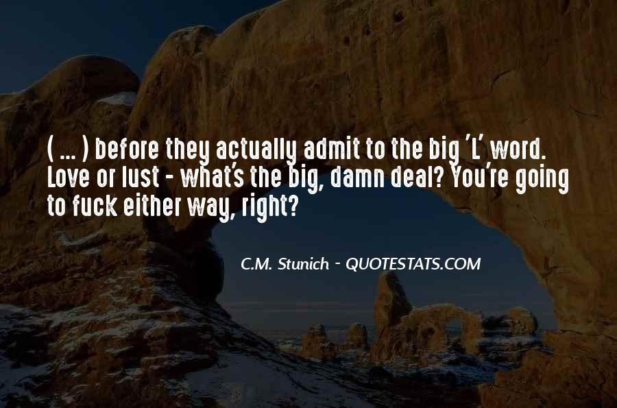 The Big C Quotes #112158