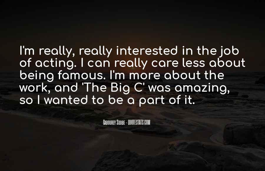 The Big C Quotes #1668424
