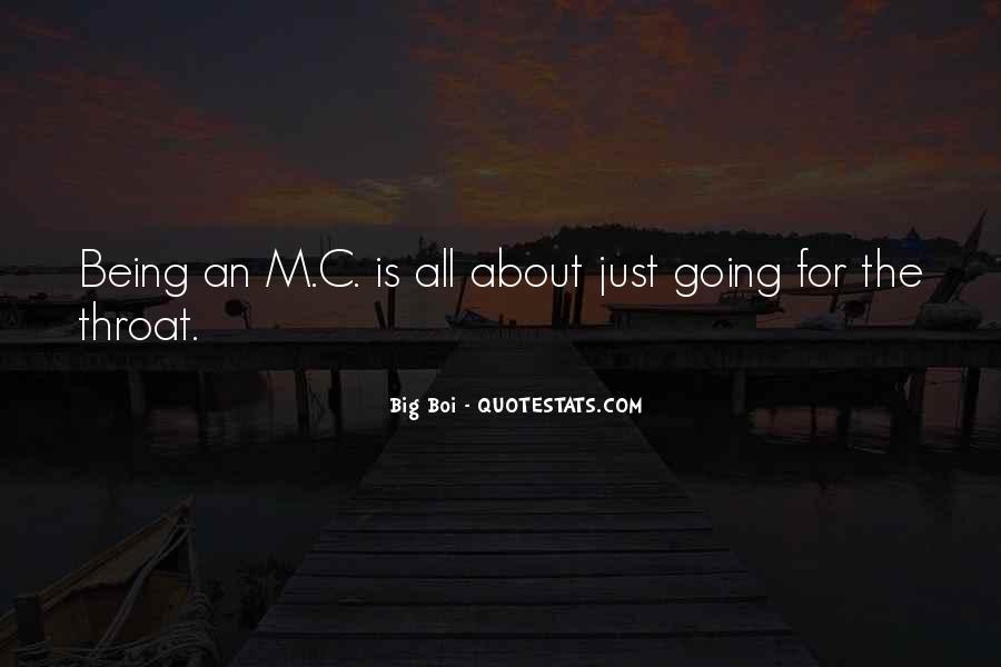 The Big C Quotes #672738