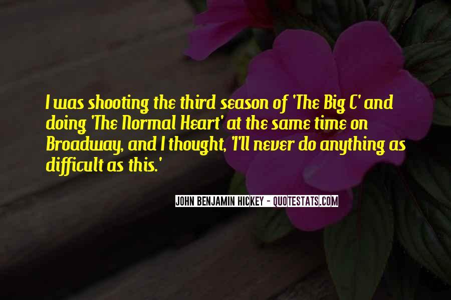 The Big C Quotes #876253