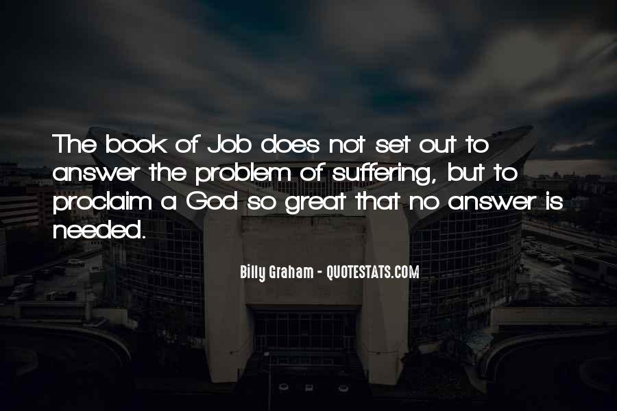 The Book Of Job Suffering Quotes #1597801