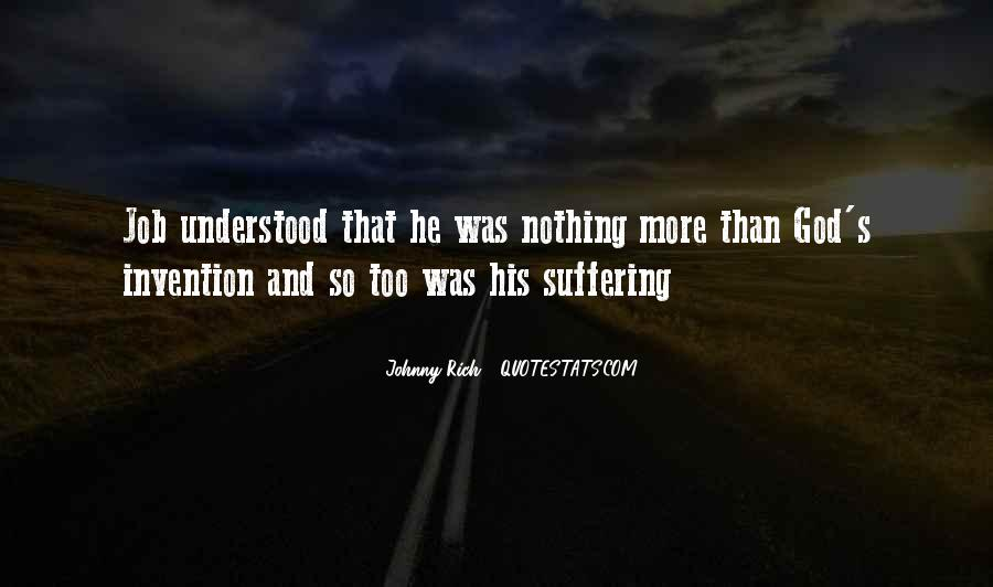 The Book Of Job Suffering Quotes #883913