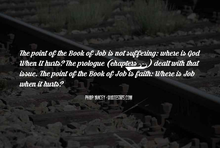 The Book Of Job Suffering Quotes #998981