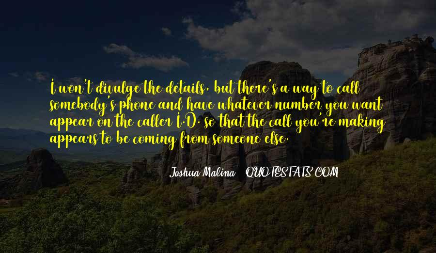 The Caller Quotes #1270582