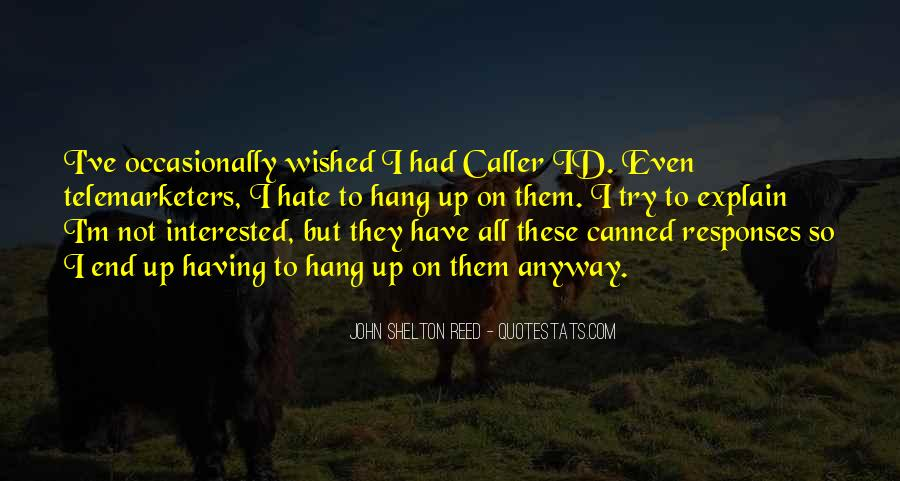 The Caller Quotes #799476