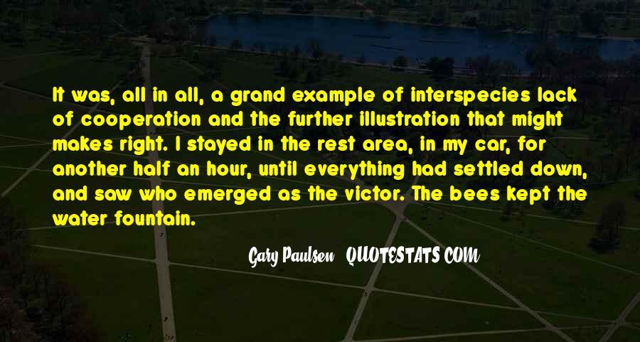 The Car Gary Paulsen Quotes #600717