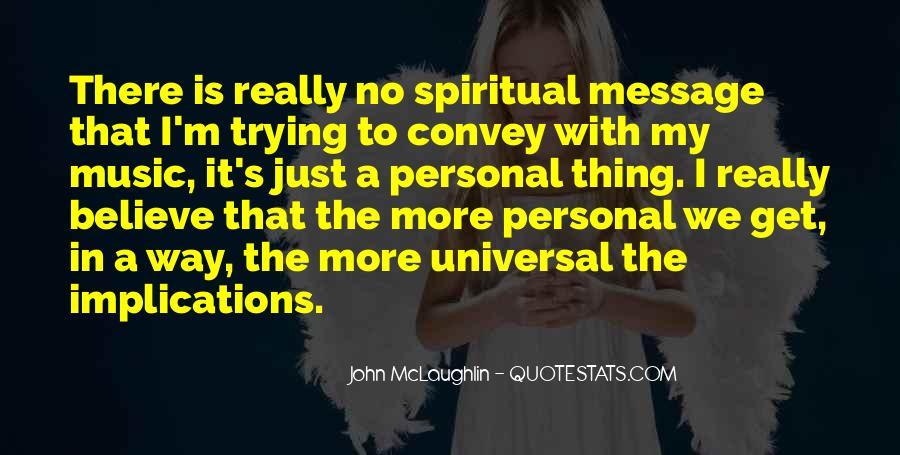 Quotes About John Mclaughlin #1664102