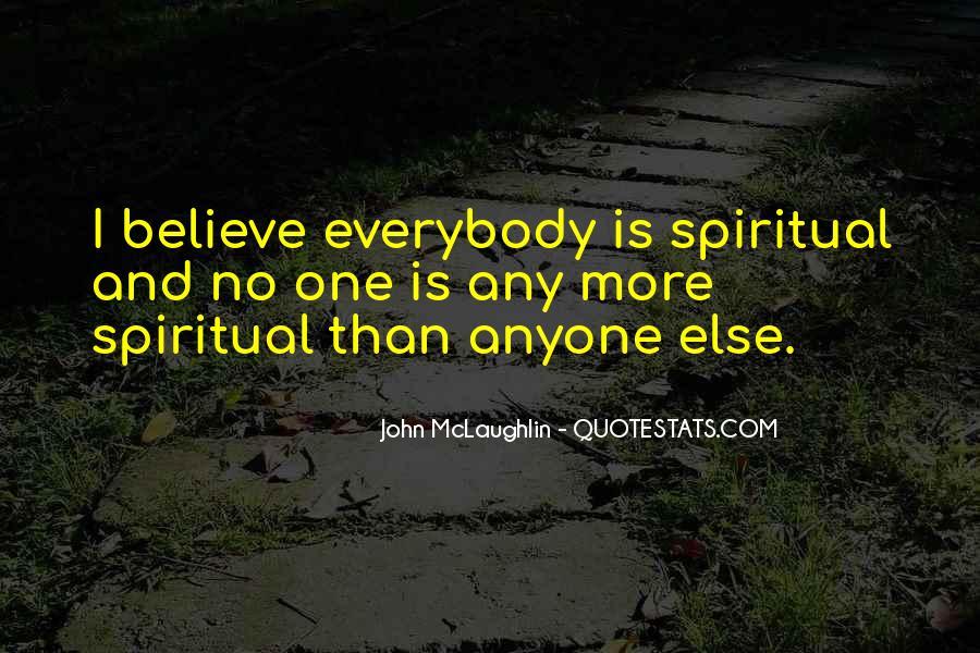 Quotes About John Mclaughlin #336062