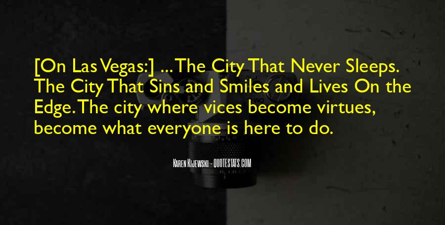 The City Never Sleeps Quotes #640080