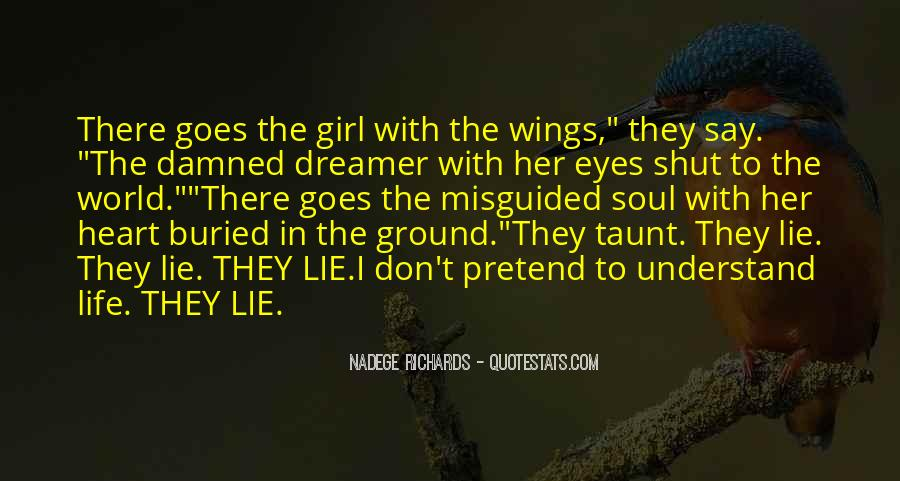The Eyes Don't Lie Quotes #1517100