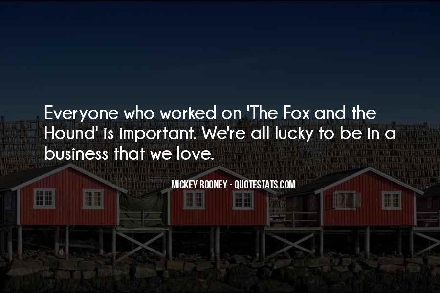 The Fox And The Hound Quotes #1164990