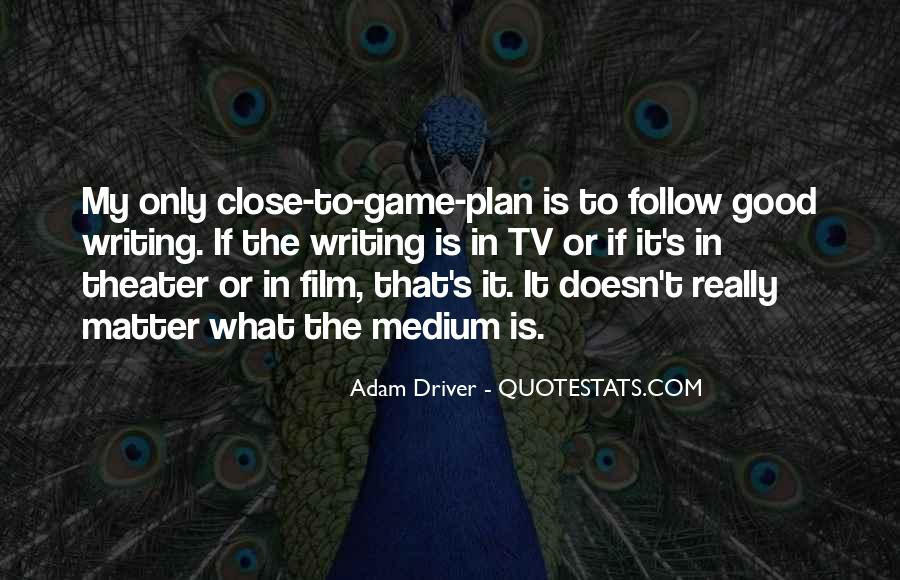 The Game Plan Quotes #1371801
