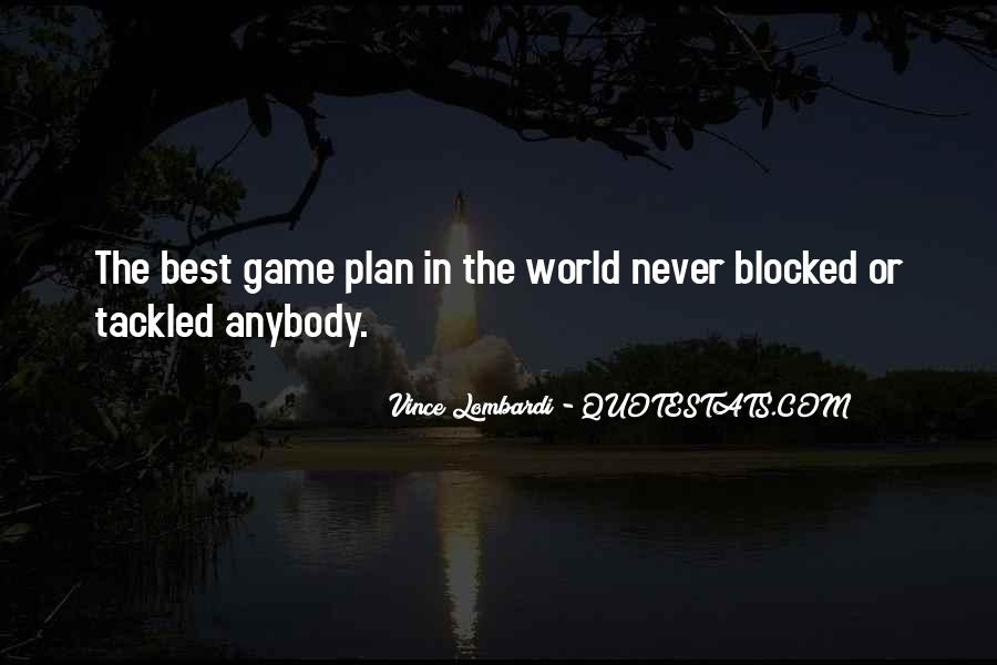 The Game Plan Quotes #617219