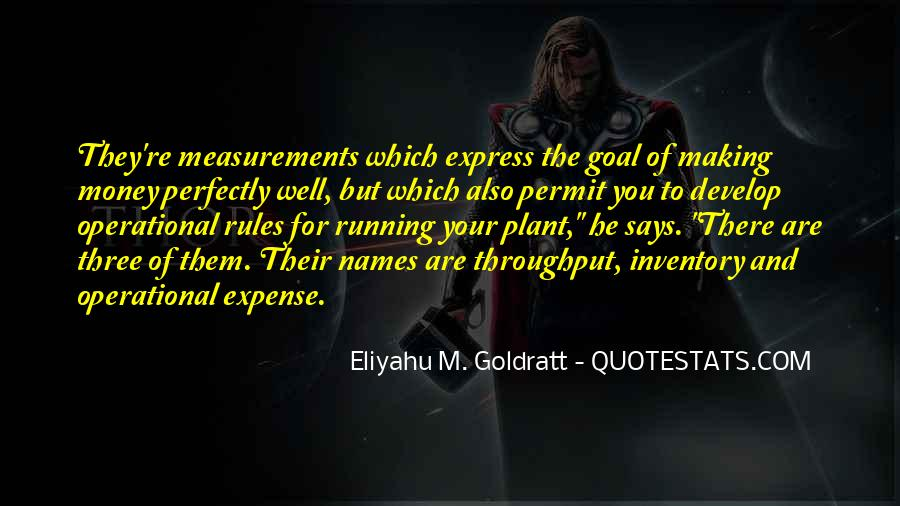 The Goal Goldratt Quotes #1025847