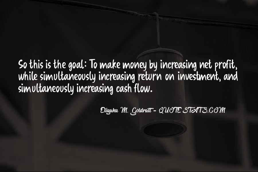 The Goal Goldratt Quotes #341596