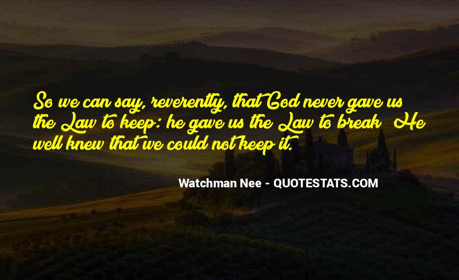 The God We Never Knew Quotes #602955