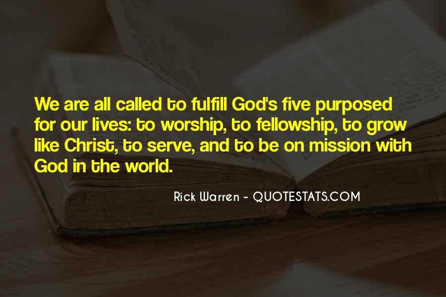 The God We Serve Quotes #1111856