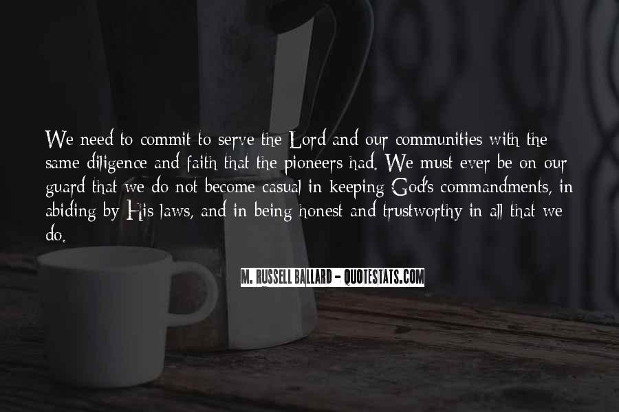 The God We Serve Quotes #1129307