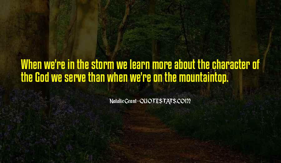 The God We Serve Quotes #126350