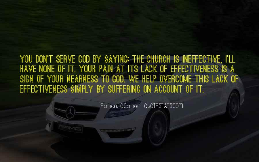 The God We Serve Quotes #1704142