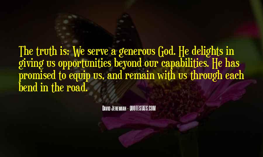 The God We Serve Quotes #241678