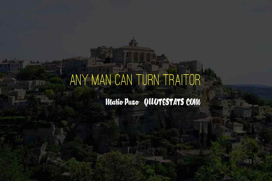 The Godfather Mario Puzo Quotes #1572193