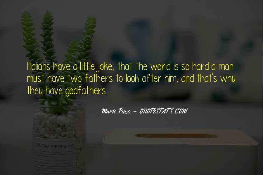The Godfather Mario Puzo Quotes #441867