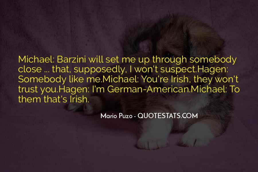 The Godfather Mario Puzo Quotes #634037