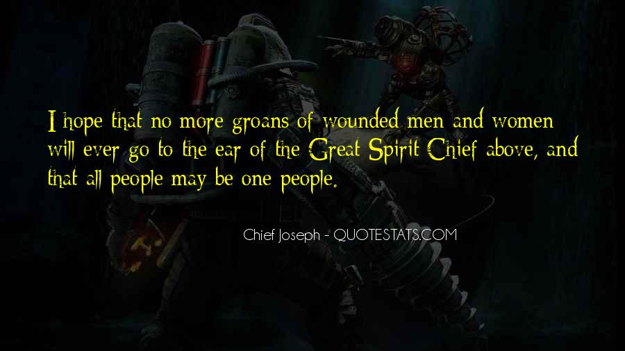 The Great Spirit Quotes #37977