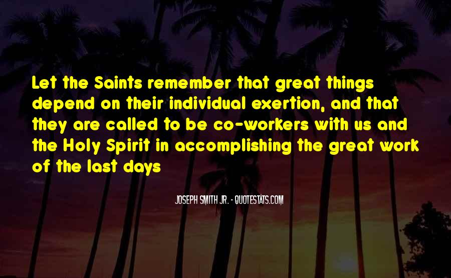 The Great Spirit Quotes #506021