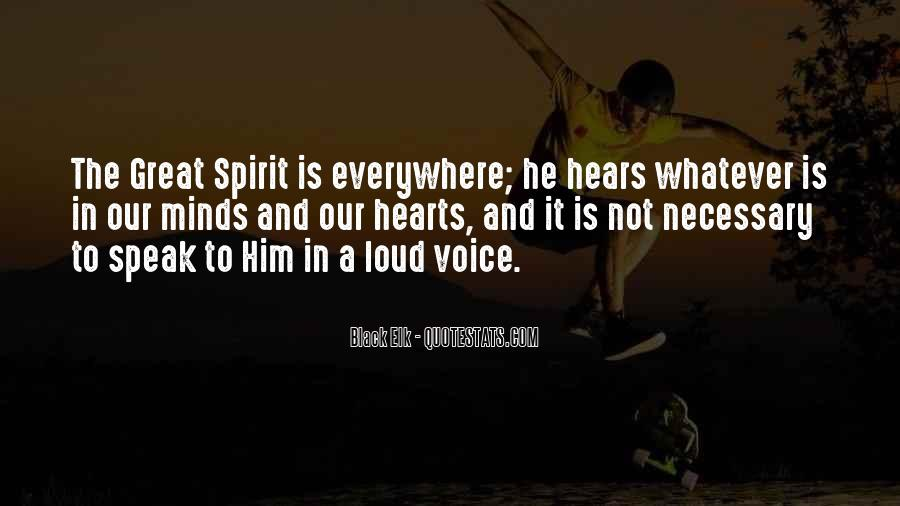 The Great Spirit Quotes #76806