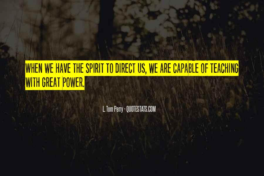 The Great Spirit Quotes #87825
