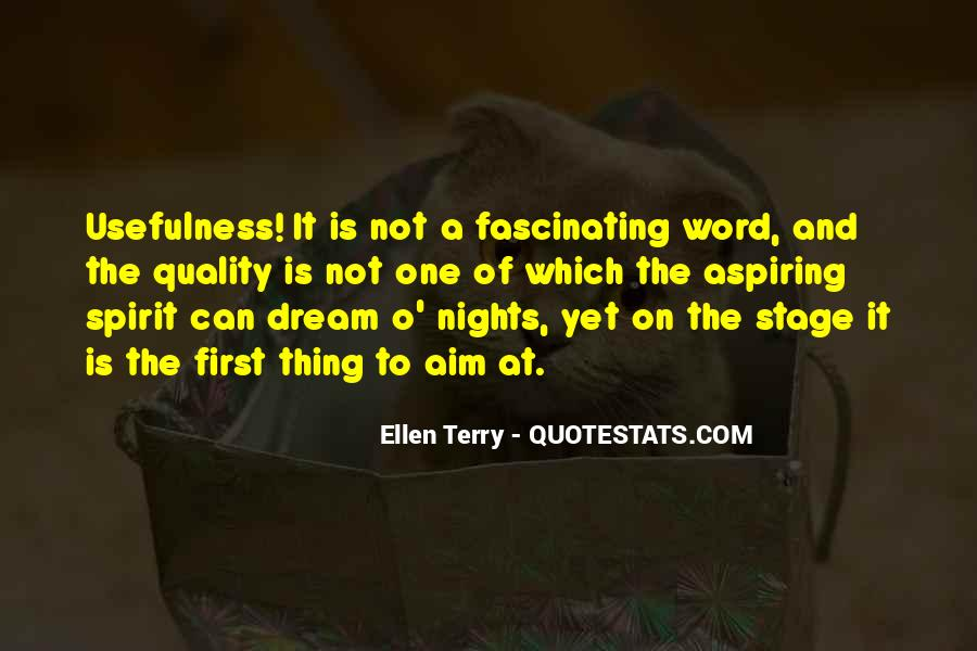 Quotes About Aspiring For A Dream #1525581