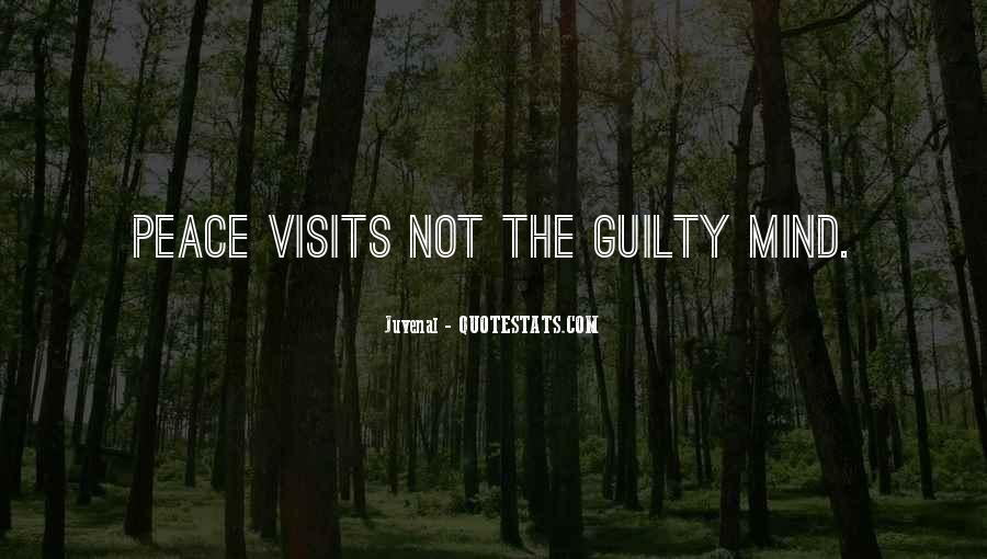 The Guilty Mind Quotes #917575
