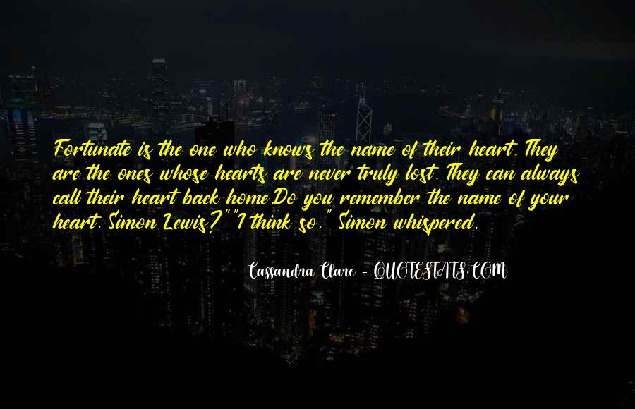 The Heart Knows Quotes #192292