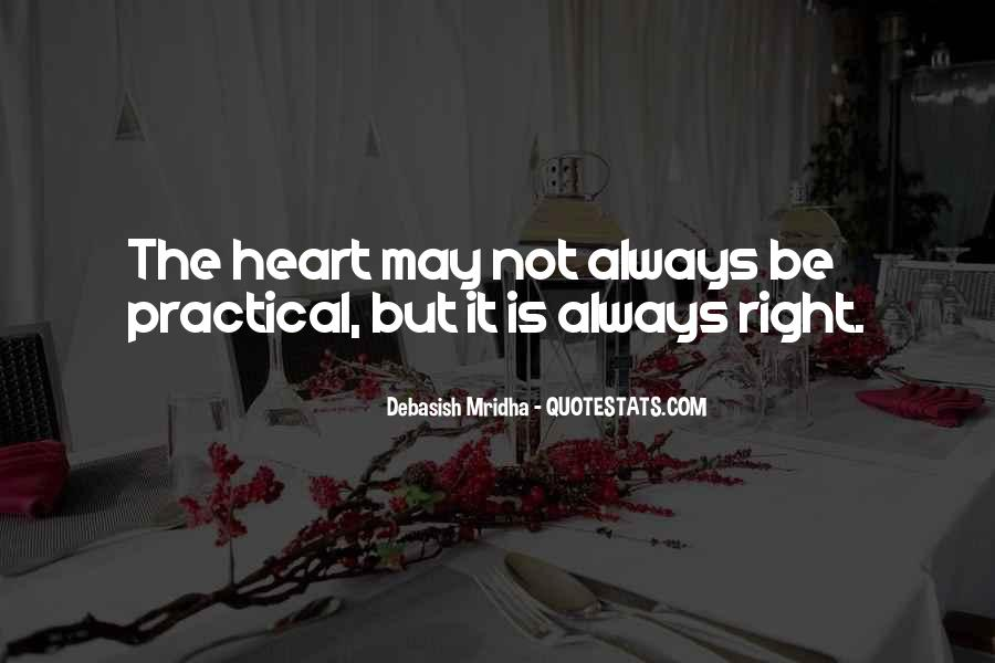 The Heart Knows Quotes #19823