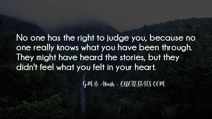 The Heart Knows Quotes #263885