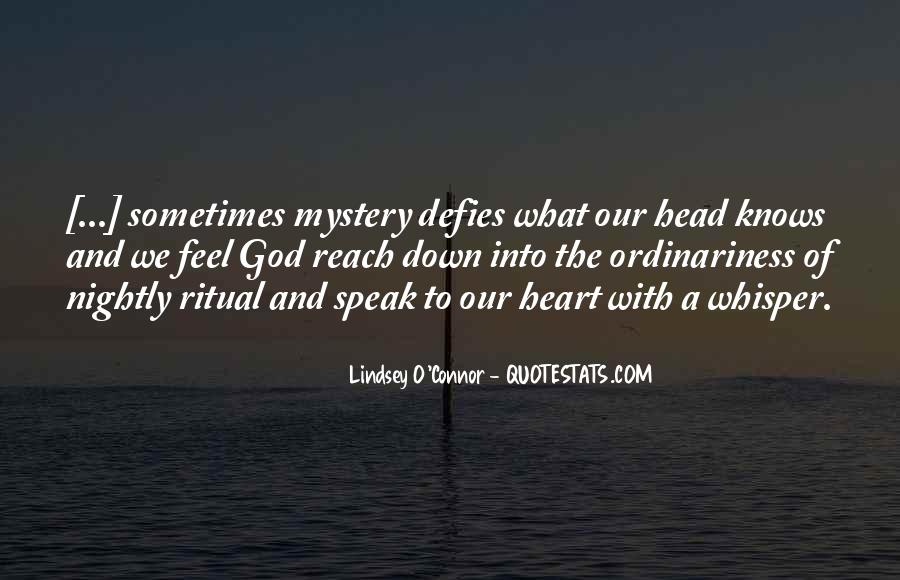 The Heart Knows Quotes #285137
